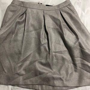 Silver/gray circle skirt